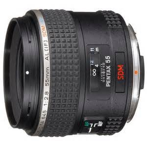 what is the filter thread size of pentax d fa 645 55mm f2.8?