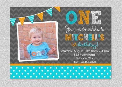 1st birthday invitations boy templates boys 1st birthday invitation chevron polka dot birthday