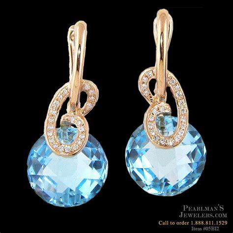 bellarri jewelry bellarri blue topaz earrings