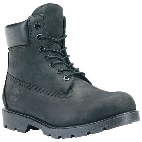 all timberland boots mens timberland mens icon 6 inch work boots style 19039 black