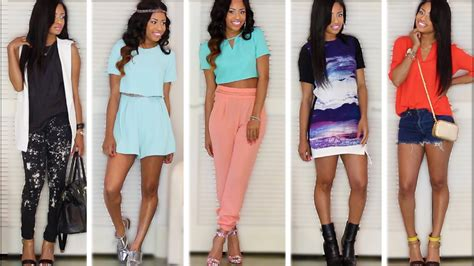 cute themes to dress up let s play dress up 5 spring outfits youtube