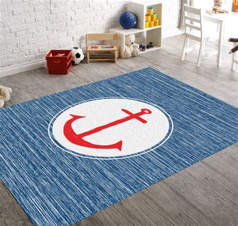 navy nursery rug anchor rug nautical rug navy rug house by hawkerpeddler