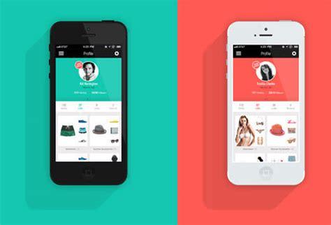 flat design app layout フラットデザイン徹底ガイド 無料ダウンロードできるpsd素材まとめ photoshopvip