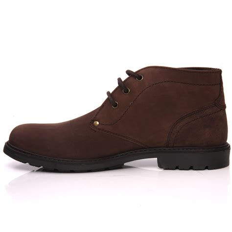 mens casual boots uk unze rosa mens leather casual chukka lace up ankle boots