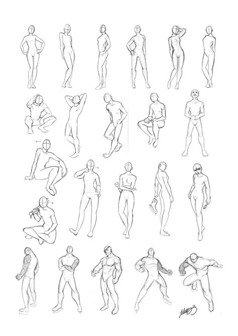 Sketches Poses by Drawing Poses Search Drawing