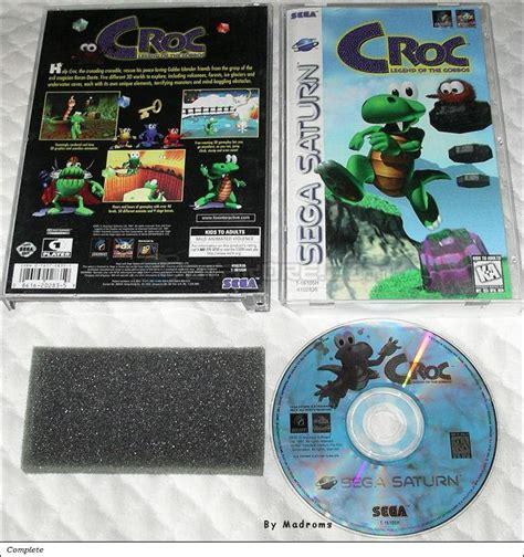 legend sega saturn croc legend of the gobbos sega saturn united states of