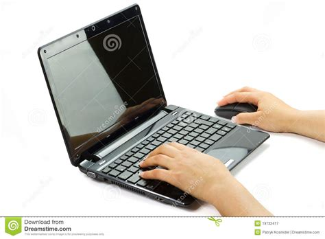 on computer writing on computer royalty free stock photography image 19732417