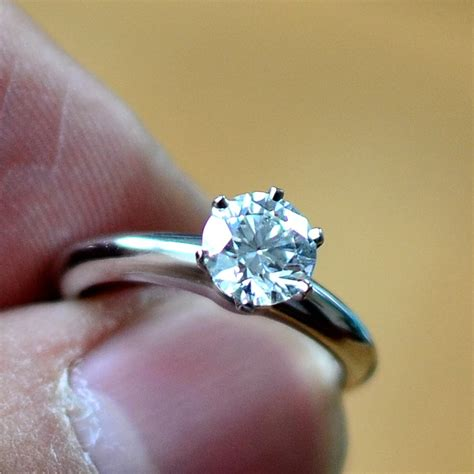 Faboo Engagement Rings by Co Brilliant Cut Engagement Ring