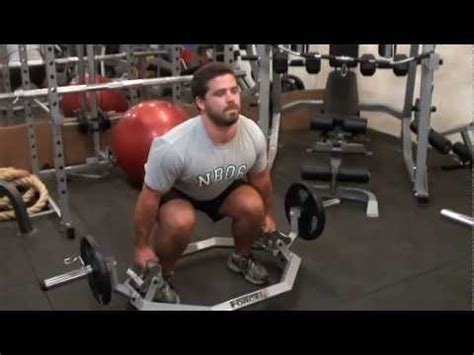 chtb commercial hex trap bar home exercises