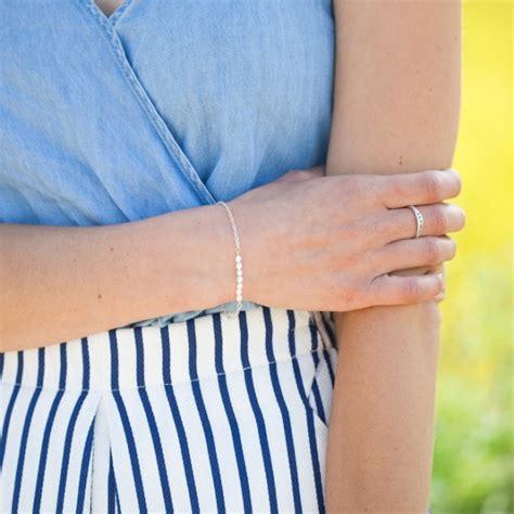 Dainty Pearl Bracelet {Sterling Silver} by Lisa Leonard