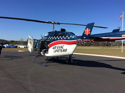 air evac helicopter air evac brings services to tift county wfxl