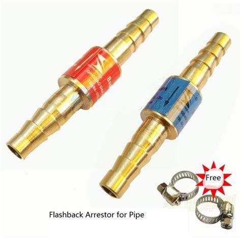 Flashback Arrestor For Torch Oxygen Acetylene Limited aliexpress buy oxygen acetylene flashback arrestor check valve buster for pressure