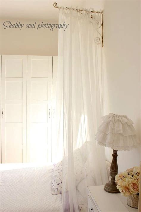 drapes over bed curtain over bed for the home pinterest