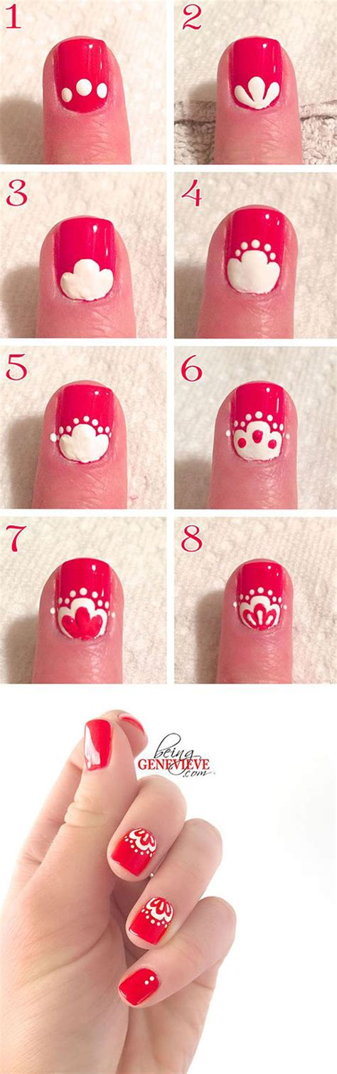 nail art tutorial websites 15 easy spring nails tutorials for beginners learners