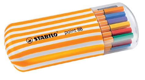 Markerstabilo Adventuretime4 Pcs stabilo point 88 line 0 4mm pen zebrui set of 20 and frame of sarasota