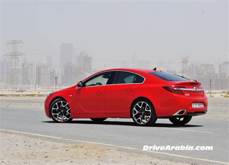 opel uae 2014 opel insignia opc in the uae 3 drive arabia