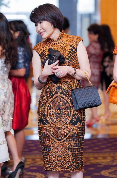 Setelan Kebaya Rok N Blouse Batik Sabrina Etnic le jardin chinois runway style
