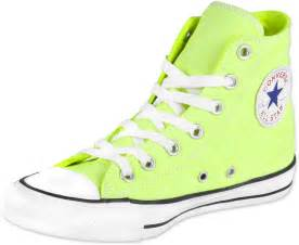 Neon yellow converse viewing gallery