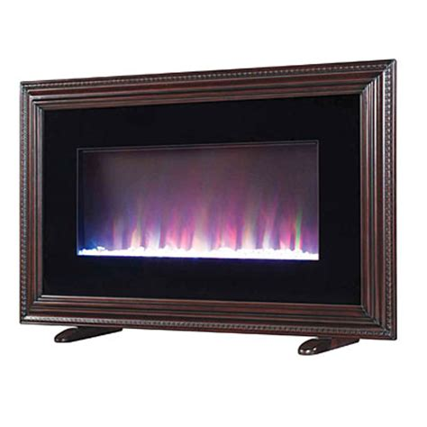 wall mount electric fireplace with frame big lots