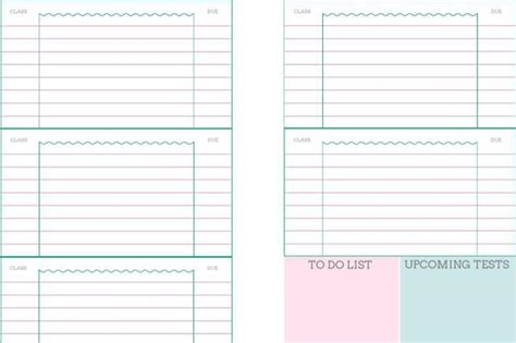 student daily planner template plan templates free premium templates forms