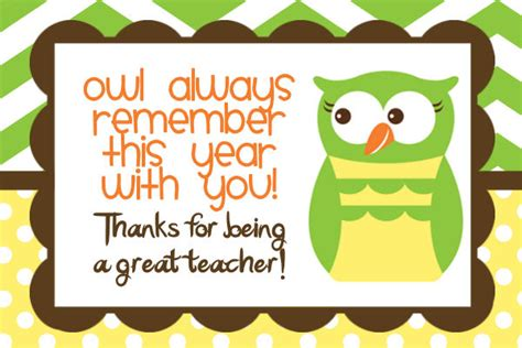 printable thank you card from teacher to student teacher quotes thank you card quotesgram