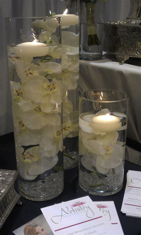 Vases With Floating Candles And Flowers by Glass Cylinder Ideas On Floating Candles