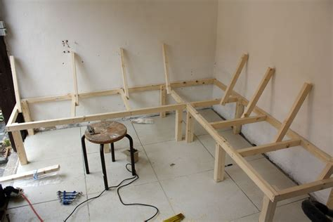 built in kitchen table bench build a corner booth seating bench for all seasons