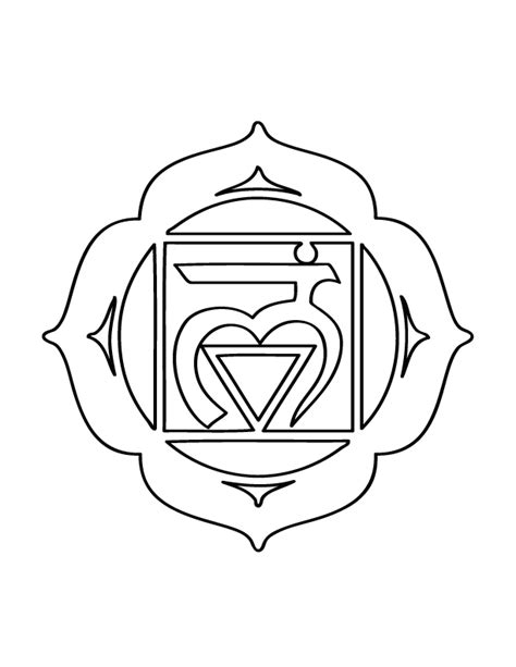 heart chakra coloring page mythic yoga the root chakra and the story in the body