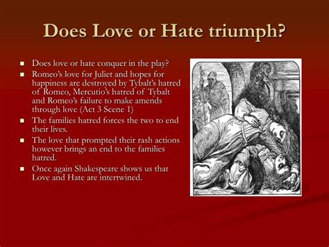 romeo and juliet themes love vs hate ppt romeo and juliet themes powerpoint presentation
