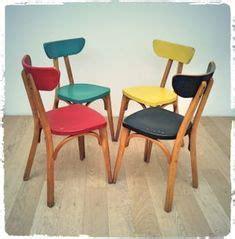 Restaurer Une Table En Bois 753 by Chaises Vintage Baumann Quot 740 Quot Pieds Compas Revisit 233 Es
