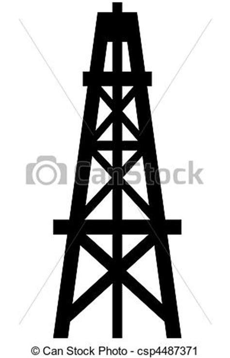 clipart of oil derrick csp4487371 search clip art