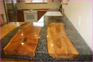 Custom concrete countertops home design ideas