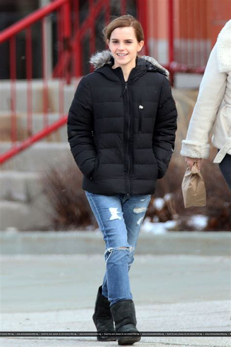 emma watson in jeans emma watson in jeans out in toronto april 2014