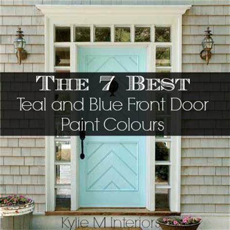 blue front door colors best 25 front door colours ideas on best