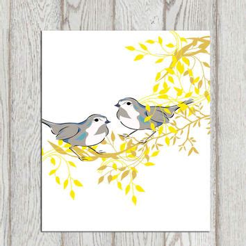 free printable bird wall art birds wall art printable bird decor print from dorindaart