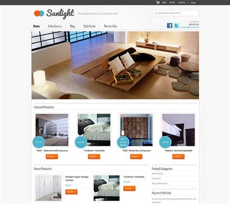 shopify themes with sidebar 1000 images about 9 of the best free premium minimal
