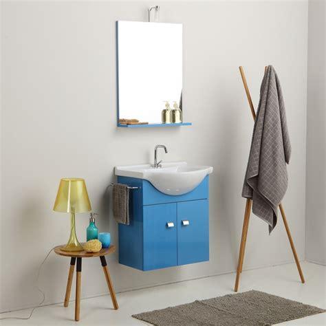 mobili bagno per piccoli spazi mobile bagno piccoli spazi da 58 cm lavabo specchio e luce