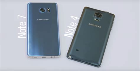 samsung galaxy note 7 vs note 4 what s the difference and should i upgrade comparativa samsung galaxy note 7 vs galaxy note 4 oficial phone house