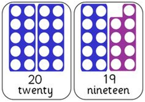 printable numicon number cards numicon on pinterest