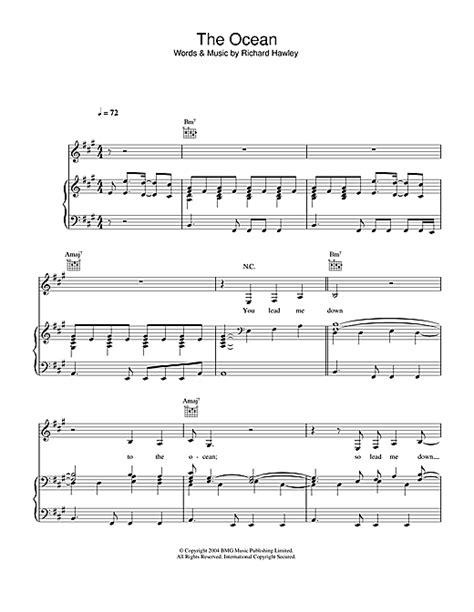 richard hawley chords the sheet by richard hawley piano vocal