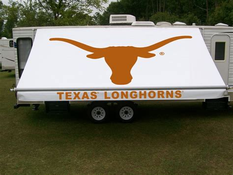 Custom Rv Awnings by Longhorns Rv Awning By In The Shade Custom Rv
