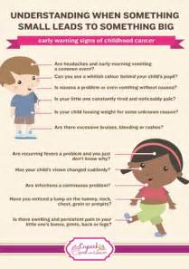 Living and loving early warning signs of childhood cancer