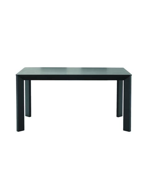 black dining table black wood dining table modern furniture brickell