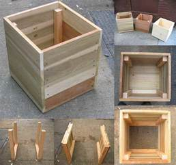 wooden planter boxes rustic wood planter box with metal