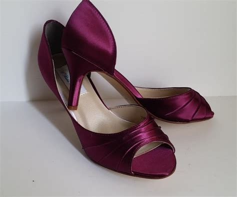 Burgundy Wedding Shoes by Burgundy Wedding Shoes Burgundy Bridal Shoes Burgundy
