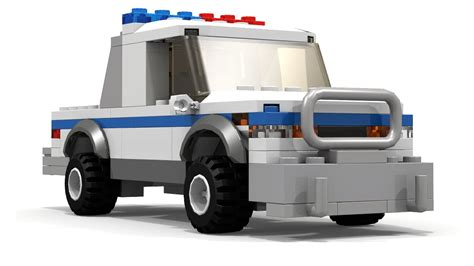tutorial lego truck lego police pickup truck tutorial youtube