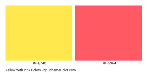 yellow color shades vanilla yellow color palette 20 most yellow with pink color scheme 187 pink 187 schemecolor com