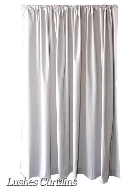 120 inch long drapes extra length gray 120 inch h velvet curtain long panel banquet room office drape ebay