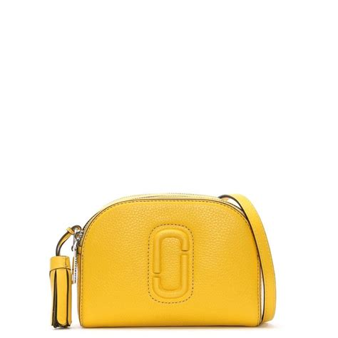 Shutter Mj Bag Marc Leather Sling Bag lyst marc shutter canary leather small bag