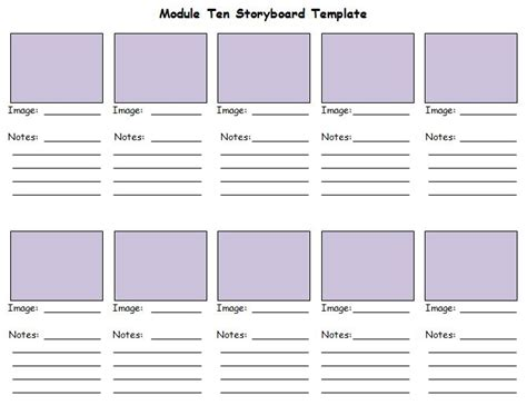 40 professional storyboard templates amp examples free